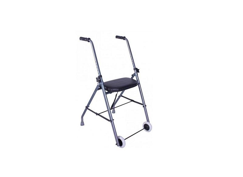 Andador de aluminio personas mayores Queralto muy ligero plegable