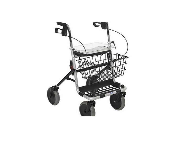Invacare - Andador con ruedas y bandeja