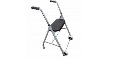 mini andador ancianos adultos con 2 ruedas atenas ortraid