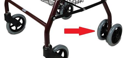 andador 4 ruedas dobles