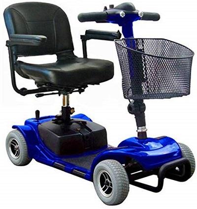 LIBERCAR Scooter Eléctrico Smart 4 Ruedas para adultos