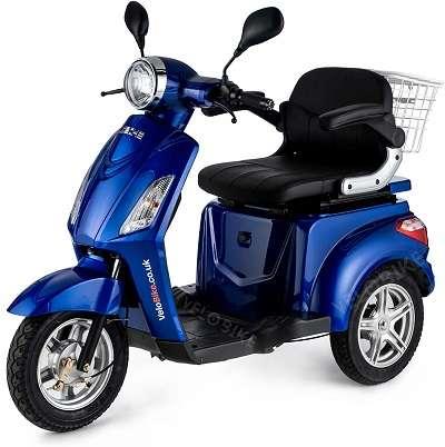 VELECO ZT15 Scooter Eléctrico de 3 Ruedas
